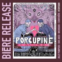 Jolly Pumpkin North Peak Porcupine de Amore label BeerPulse