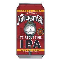 Narragansett It's About Time IPA BeerPulse