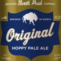 North Peak Original Hoppy Pale Ale bottle BeerPulse