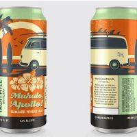 Iron Hill Mahalo Apollo Summer Wheat Ale cans BeerPulse
