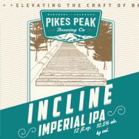 Pikes Peak Incline Imperial IPA label BeerPulse