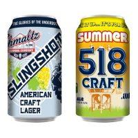 Shmaltz Brewing cans ACBW 2017