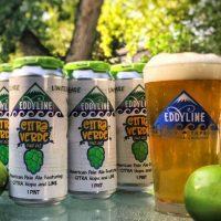 Eddyline Citra Verde cans BeerPulse