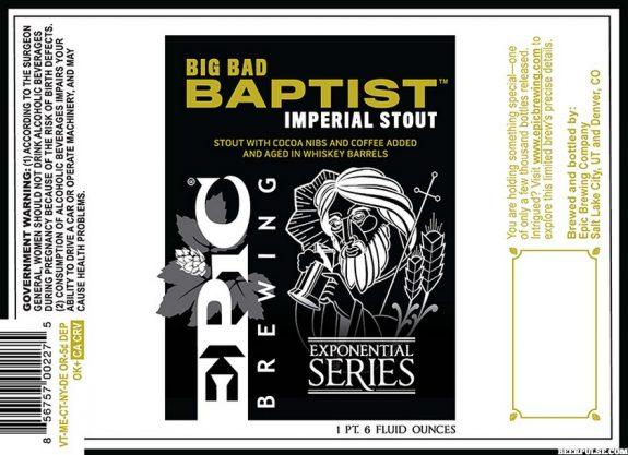 Epic Big Bad Baptist BeerPulse
