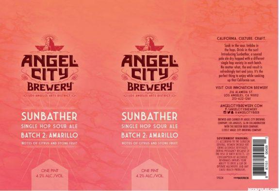 Angel City Sunbather cans BeerPulse