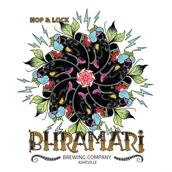 Bhramari Hop & Lock beer logo beerpulse