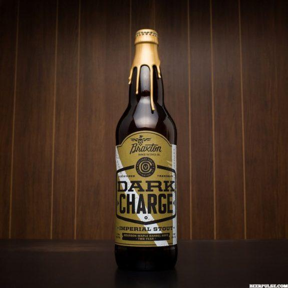 Braxton Dark Charge Bourbon Maple BA Two Year Imp. Stout bottle BeerPulse