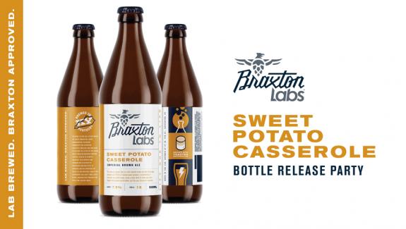 Braxton Labs Sweet Potato Casserole Release BeerPulse