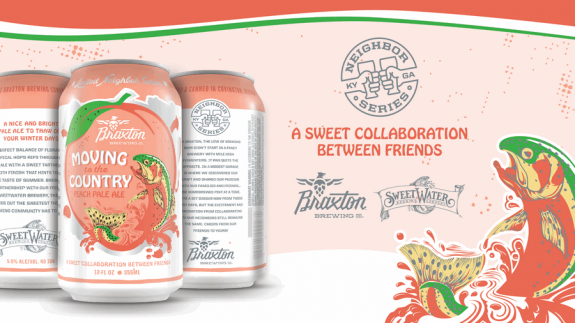 Braxton SweetWater Moving to the Country cans BeerPulse