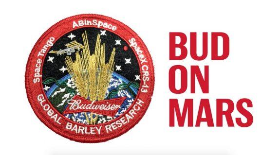 Bud on Mars Budweiser Global Barley Research BeerPulse