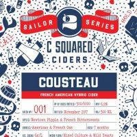 C Squared Ciders Cousteau Label BeerPulse