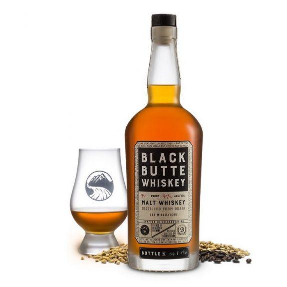 Deschutes Bendistillery Black Butte Whiskey 2018 bottle BeerPulse