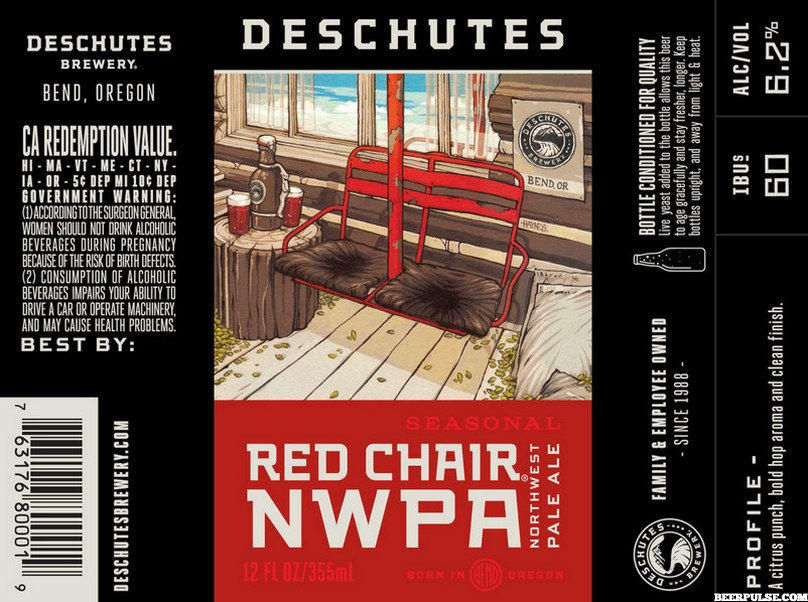 Deschutes Red Chair NWPA BeerPulse  sc 1 st  BeerPulse & Deschutes Jubelale The Abyss Hop Henge and Red Chair up next in ...