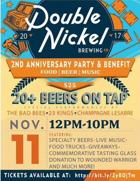 Double Nickel 2nd Anniversary Party