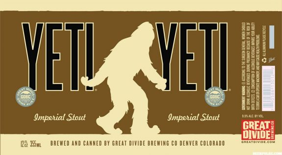 Great Divide Yeti 12oz Cans BeerPulse