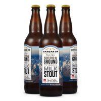 Hangar 24 Sierra Ground Coffee Milk Stout bottles BeerPulse