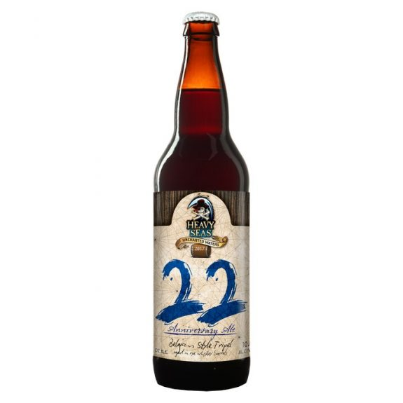 Heavy Seas 22 Anniversary Ale label BeerPulse