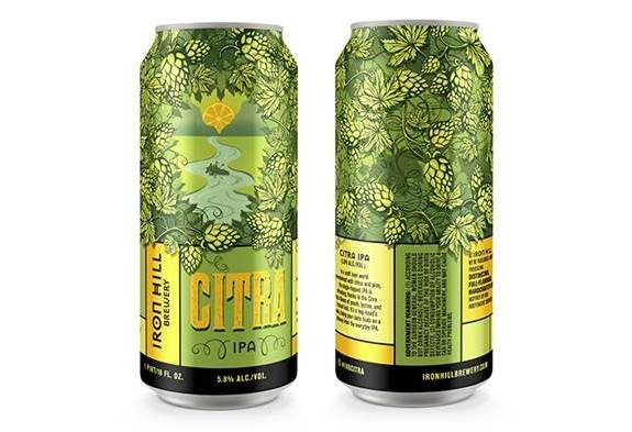 Iron HIll Citra IPA cans BeerPulse
