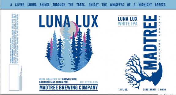 MadTree Luna Lux label BeerPulse