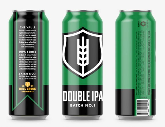 Mill Creek Double IPA cans BeerPulse