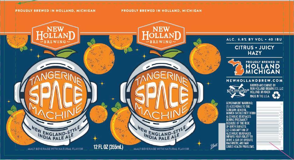 New Holland Tangerine Space Machine BeerPulse