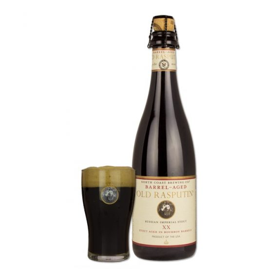 North Coast Barrel-Aged Old Rasputin XX bottle BeerPulse