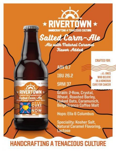 Rivertown Salted Carm-Ale poster BeerPulse