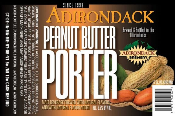 Image result for adirondack peanut butter porter