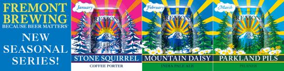 Fremont Brewing Stone Squirrel Mountain Daisy Parkland Pils BeerPulse