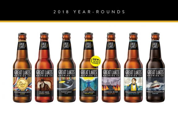 Great Lakes Brewing 2018 bottles BeerPulse