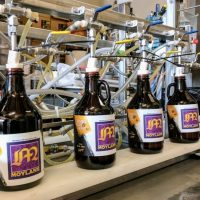 Hopsy filling Moylan's Growlers BeerPulse