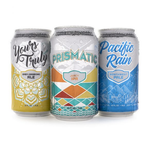 Ninkasi Yours Truly Prismatic Pacific Rain cans BeerPulse