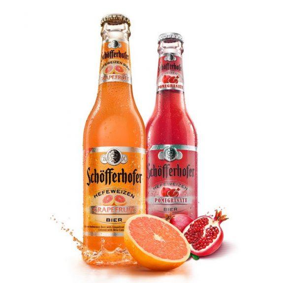 Schofferhofer Hefe Grapefruit and Pomegranate BeerPulse