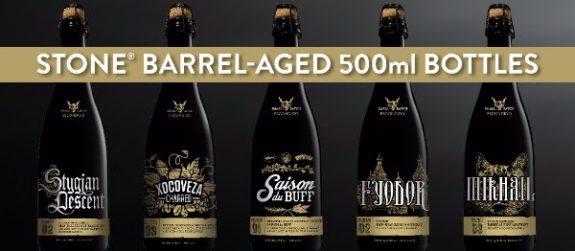 Stone Barrel-Aged 500ml bottles BeerPulse