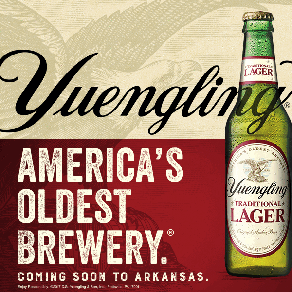 Yuengling expands distribution to Arkansas, its 21st state