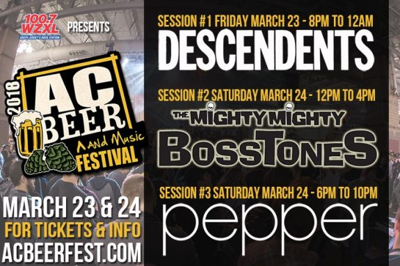 AC Beer and Music Fest band lineup BeerPulse