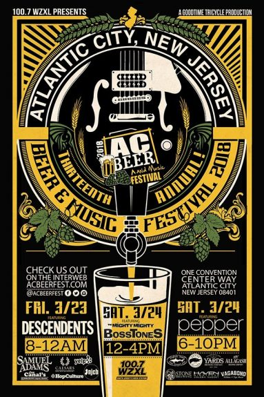 AC Beer and Music Festival poster BeerPulse
