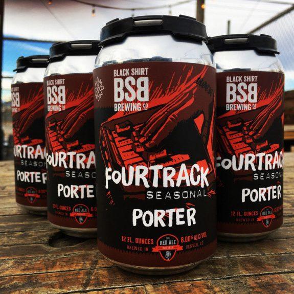 Black Shirt Fourtrack Seasonal Porter BeerPulse