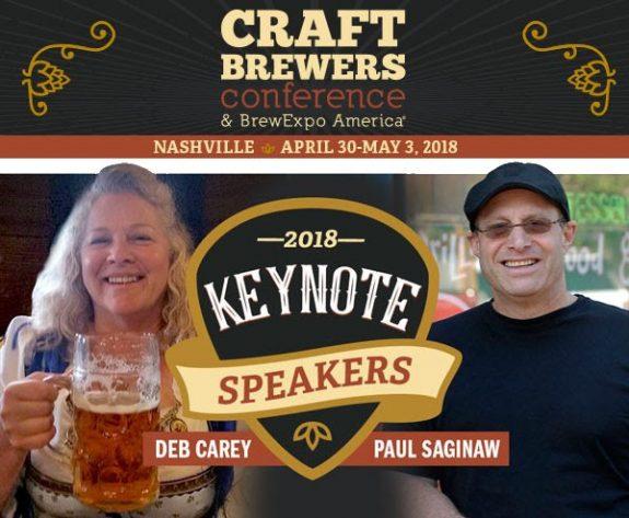 Craft Brewers Conference 2018 Keynote Speakers BeerPulse