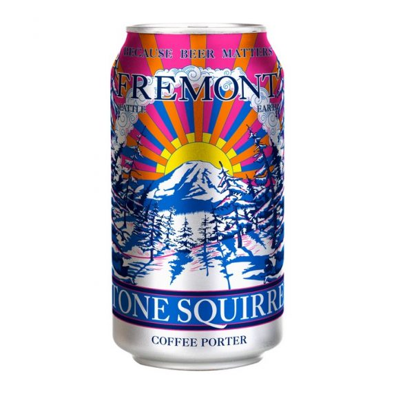 Fremont Stone Squirrel Coffee Porter can BeerPulse