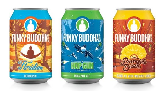 Funky Buddha Brewing cans BeerPulse