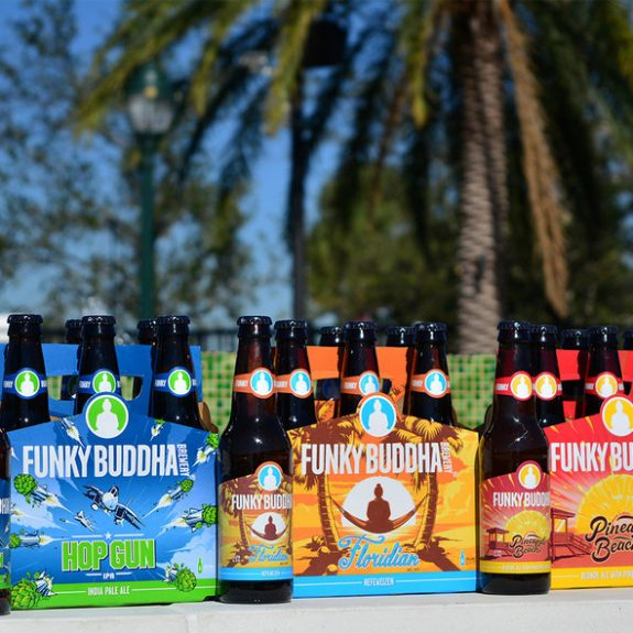 Funky Buddha Brewing new packaging 2018 BeerPulse