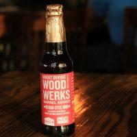 Great Divide Wood Werks Barrel Series Belgian-style Sour bottle BeerPulse
