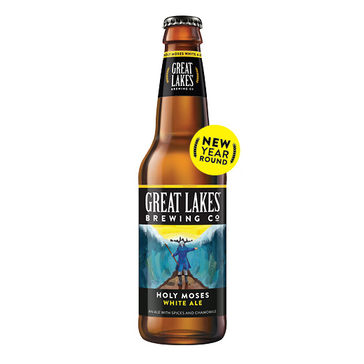 Great Lakes Holy Moses White Ale now available year-round