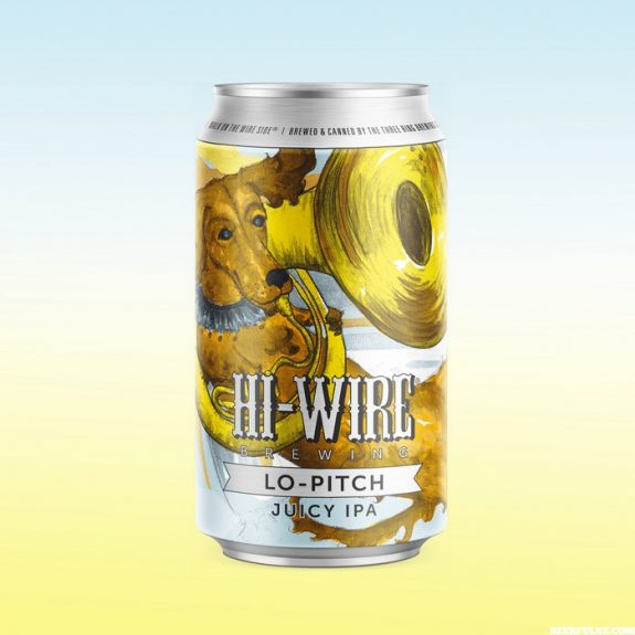 Hi-Wire Lo-Pitch Juicy IPA can BeerPulse