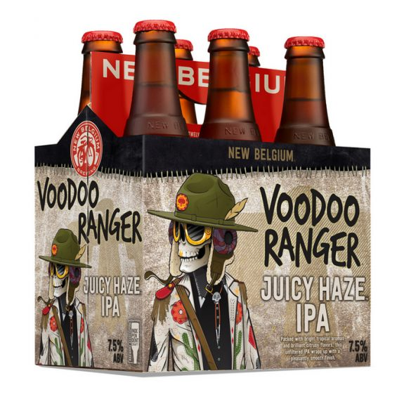 New Belgium Voodoo Ranger Juicy Haze IPA 6pk BeerPulse