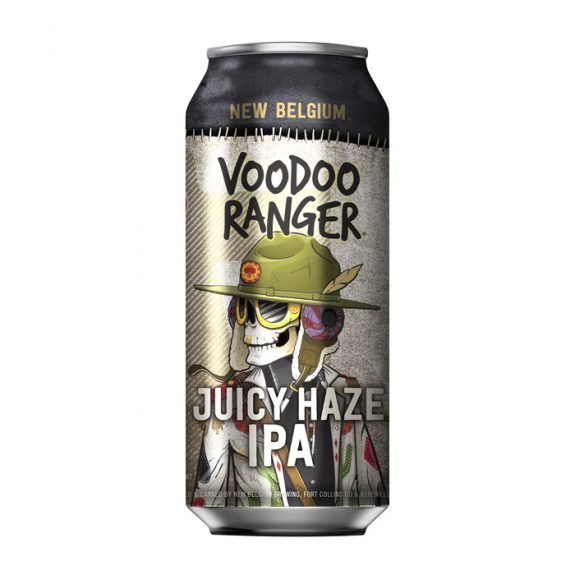 New Belgium Voodoo Ranger Juicy Haze IPA can BeerPulse