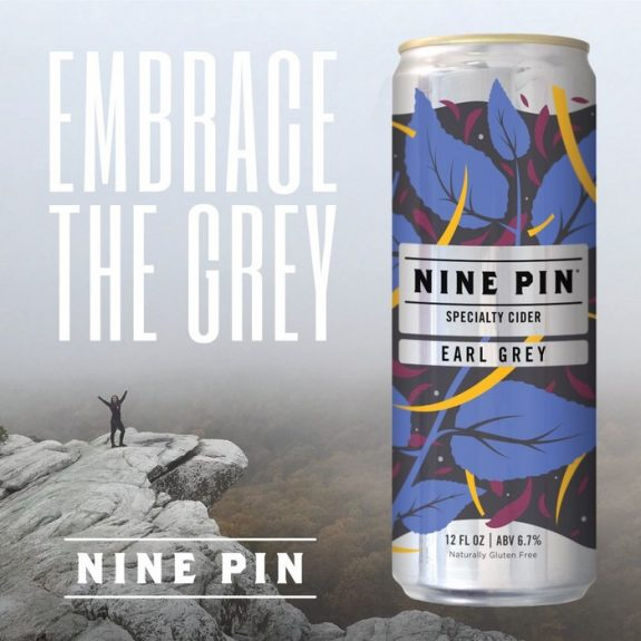 Nine Pin Cider Earl Grey can BeerPulse
