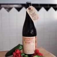 Schlafly Raspberry Chipotle Brown bottle BeerPulse