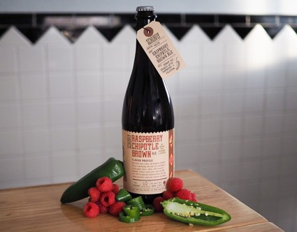 Schlafly Raspberry Chipotle Brown bottle BeerPulse